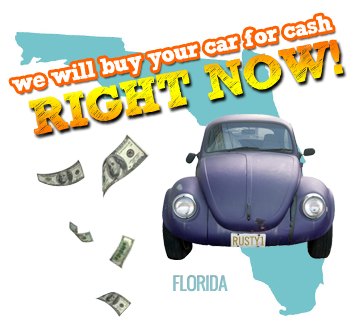 We Will Buy Your Car for Cash in Florida