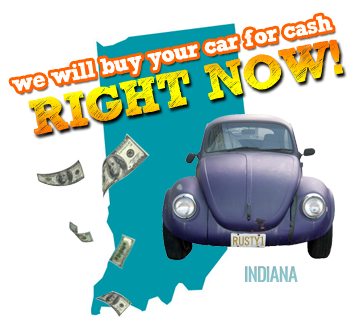 We Will Buy Your Car for Cash in Indiana