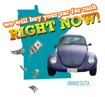 We Will Buy Your Car for Cash in Minnesota