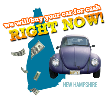 We Will Buy Your Car for Cash in New Hampshire