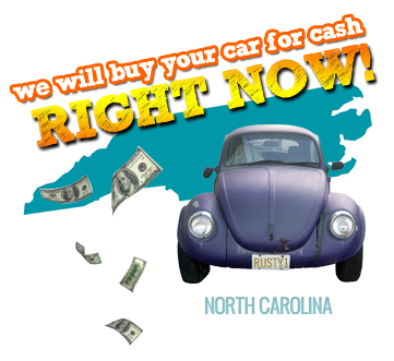 We Will Buy Your Car for Cash in North Carolina