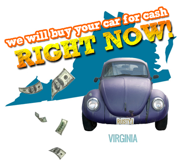 We Will Buy Your Car for Cash in Virginia