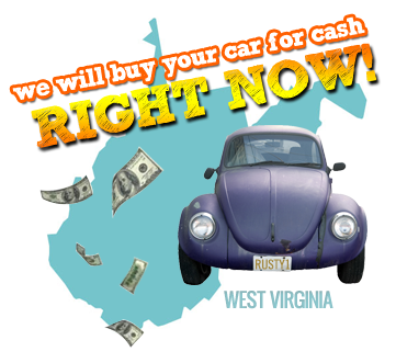 We Will Buy Your Car for Cash in West Virginia