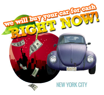 We Will Buy Your Car for Cash in New York City