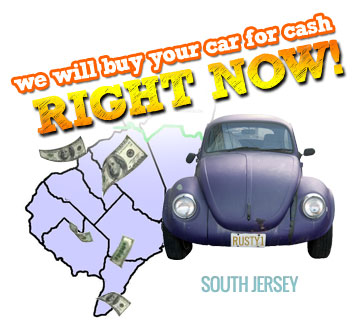 We Will Buy Your Car for Cash in South Jersey