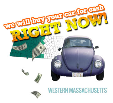 We Will Buy Your Car for Cash in Western Mass