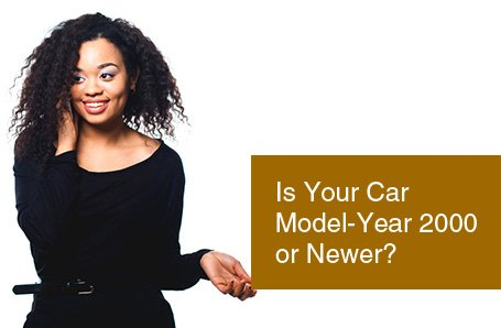 Is Your Car Model-Year 2000 or Newer?
