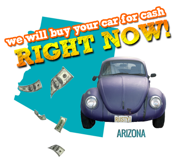 We Will Buy Your Car for Cash in Arizona