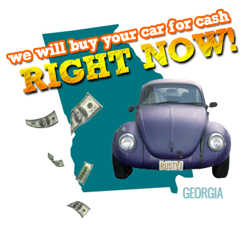 We Will Buy Your Car for Cash in Georgia