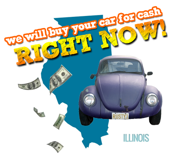 We Will Buy Your Car for Cash in Illinois