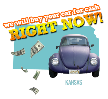 We Will Buy Your Car for Cash in Kansas