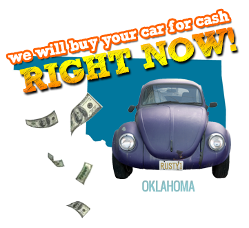 We Will Buy Your Car for Cash in Oklahoma