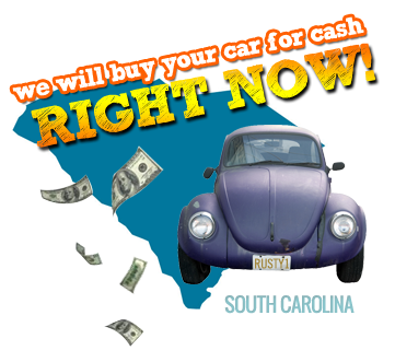 We Will Buy Your Car for Cash in South Carolina