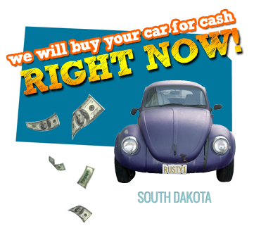 We Will Buy Your Car for Cash in South Dakota