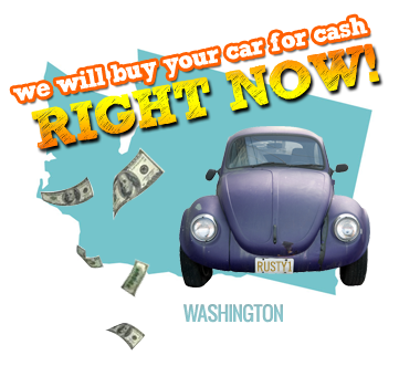 We Will Buy Your Car for Cash in Washington