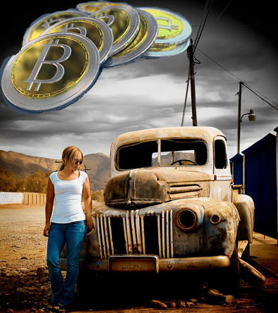 Buying Junk Cars with Bitcoin